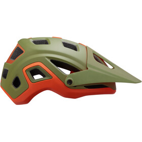 Lazer Impala Casque, matte khaki/orange